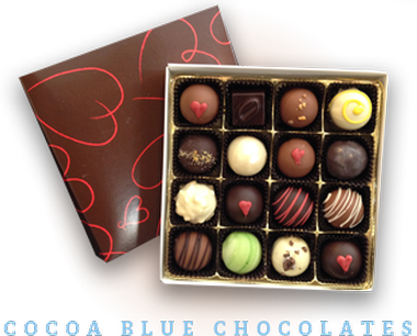 Cocoa Blue Chocolates